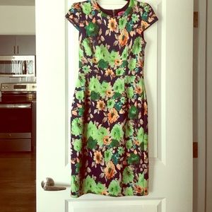 Betsey Johnson floral dress size 6 NWT